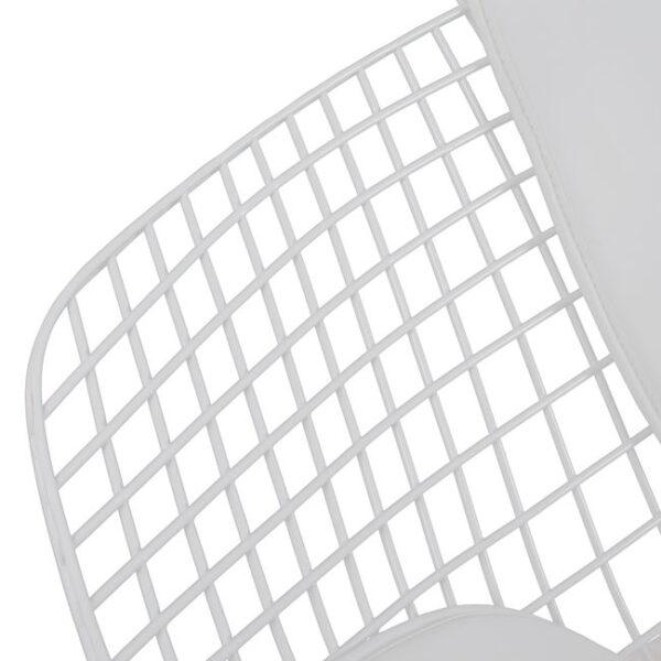 ΚΑΡΕΚΛΑ ΠΟΛΥΘΡΟΝΑ CLOE HM8045.02 ΛΕΥΚΗ ΜΕ ΛΕΥΚΟ PU 81x67x79 εκ.