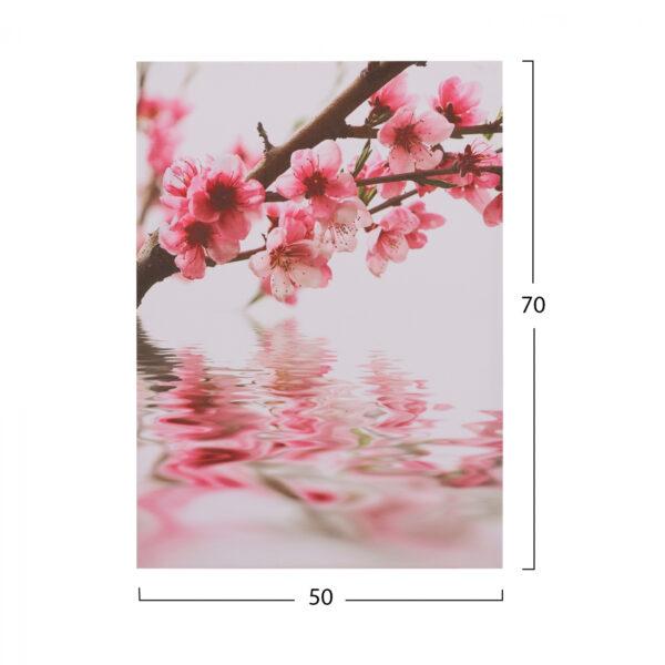 ΠΙΝΑΚΑΣ ΚΑΜΒΑΣ FLOWERS HM7153.04 50X70X2.5 εκ.