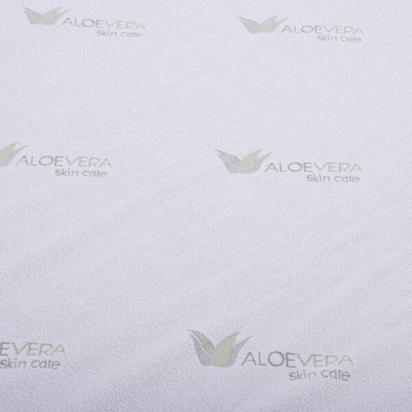 ΣΤΡΩΜΑ HM370.15 ALOE VERA POCKET SPRING ΑΝΩΣΤΡΩΜΑ MEMORY FOAM 150X200(ROLL PACKING)